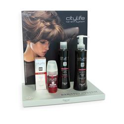 CITYLIFE KERATIN SYSTEM HAIR PACK (KIT)