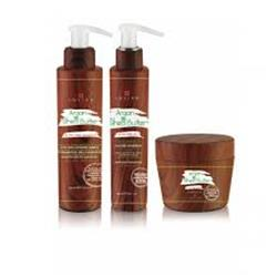 KIT ARGAN SHEA AND BUTTER SHAMPOO CREMA   OIL